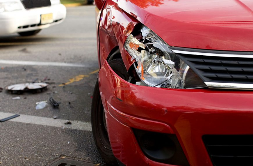 You just got into a car accident – here's what to do.